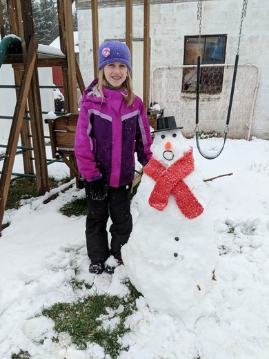 RC's snowman