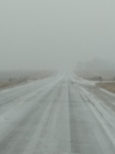 Snowing in Perry