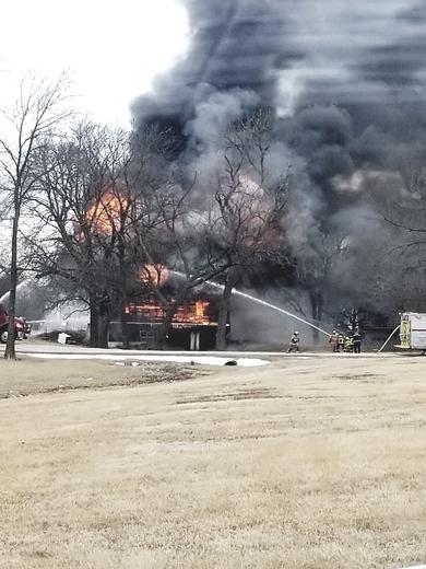 Stuart Fire Training Burn