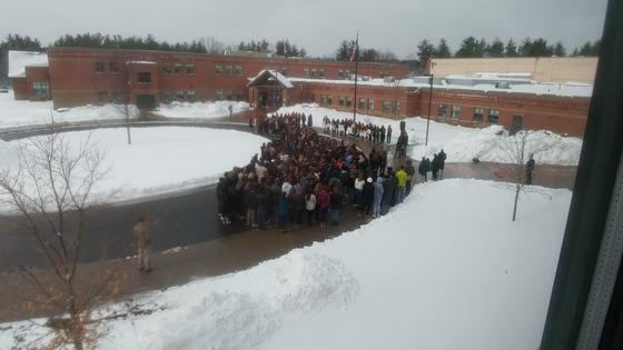Bedford School Walkout