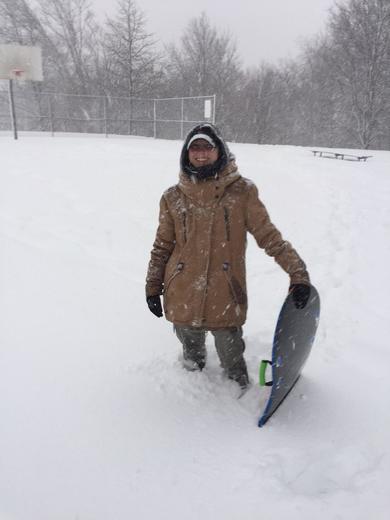 snow mission hill boston