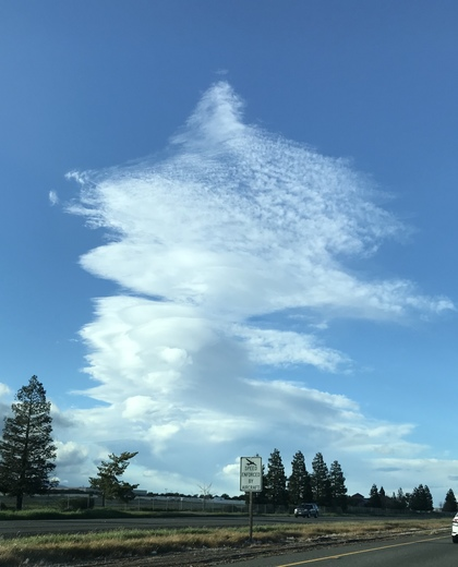 Cloud Views from I505E Vacaville 17:55