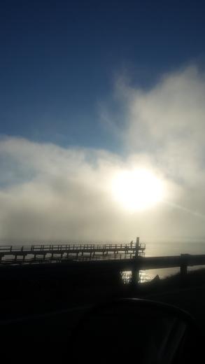 Fog Bank over Hwy 43