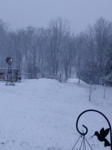 Jennings county snowfall