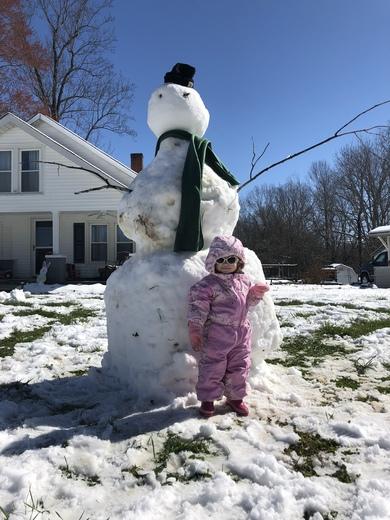 My Giant Snowman