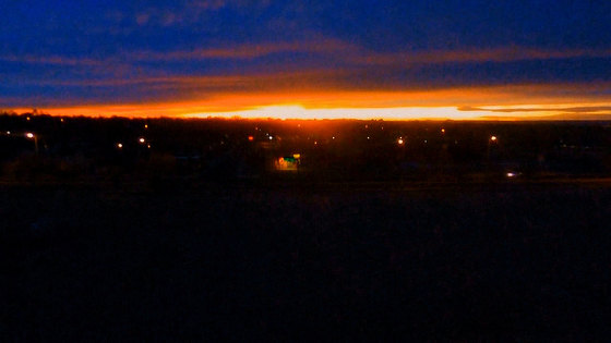 JUST ONE OF ABQ'S AWSOME SUNSETS