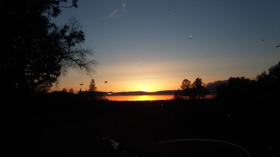 Slug Gulch Road shows off at Sunset!