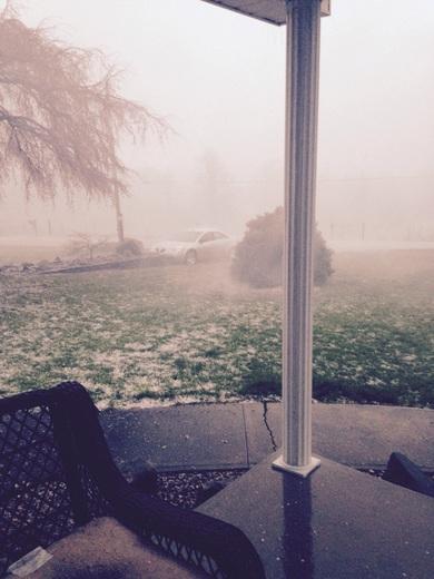 Heavy rain,winds,and hail