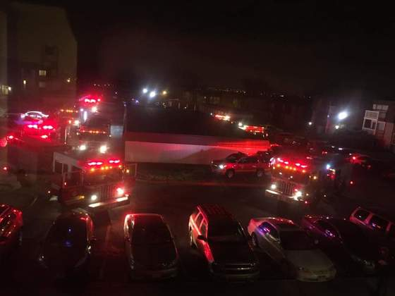Fire at 5625 n 106th plaza April 9th 2018 @1am