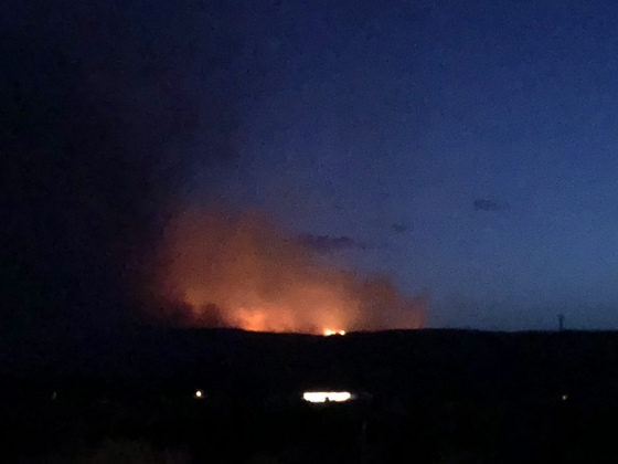 Zuni Mountain wildfire