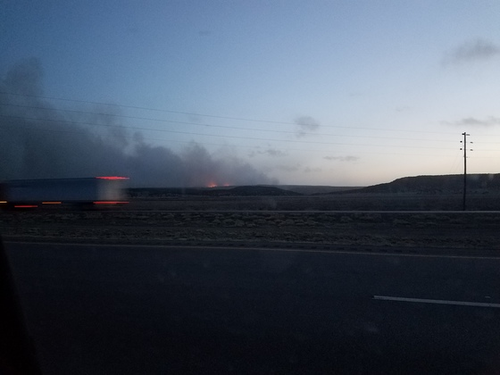 Diener Canyon Fire