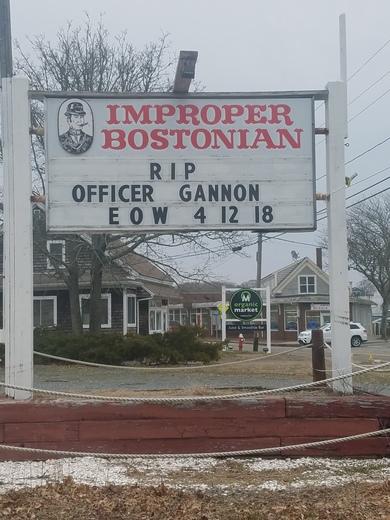 Honoring Officer Sean Gannon