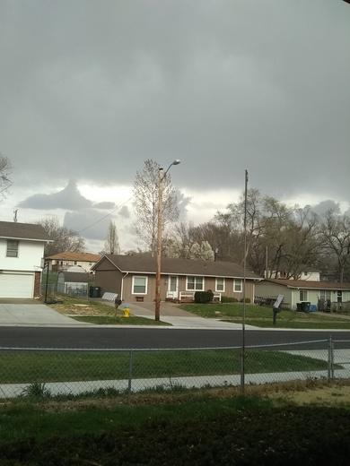Lansing ks sky looks pretty cool