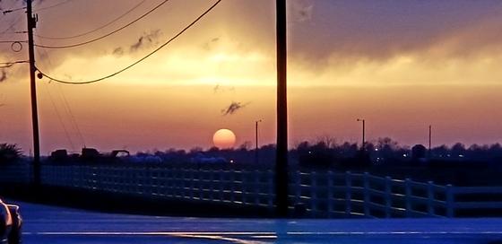 Sunset April 13 2018