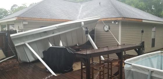 Ponchatoula Wind Damage