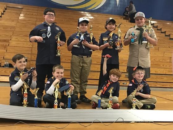 Wannalancit District Cub Scout Pinewood Derby