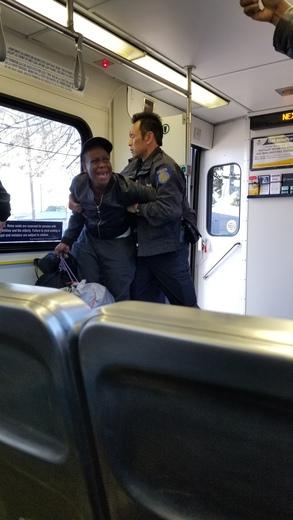 Women arrested for not leaving