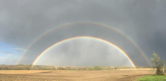 Double Rainbow over Springfield