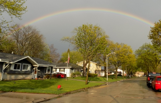 """""""Rainbow After This Evening's Storm..."""""""
