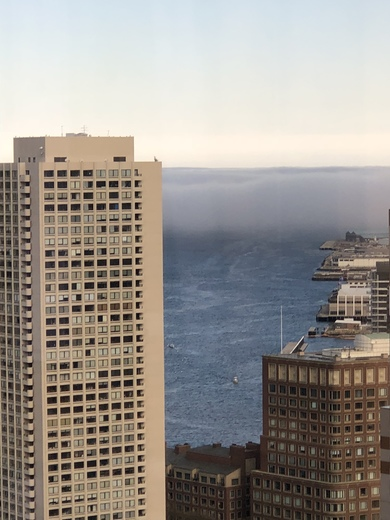 Foggy Day in Boston Town