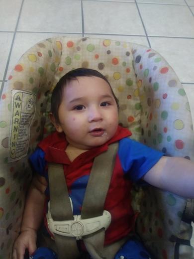 Happy 1st birthday baby Zayrien
