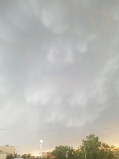Clouds in Elk City