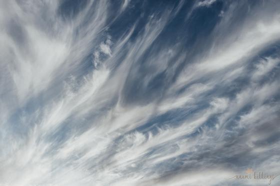 Blue skies & clouds