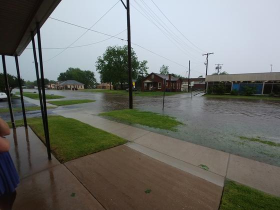 Flooding in Chickasha