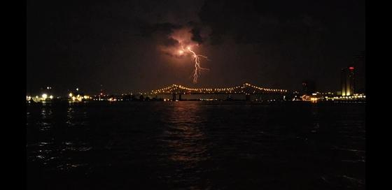 Lightning in new orleans