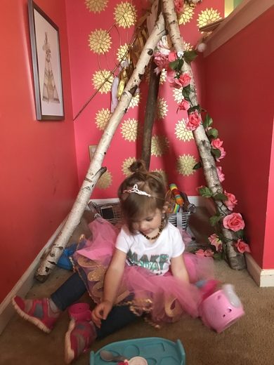 Tallie Grace, Royal Wedding TeePee T Party