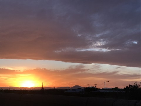 Alamogordo sunset