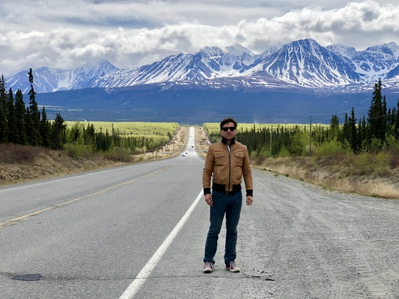 Alaska Highway Views of Kluane National Park, Yukon