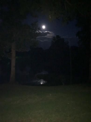 Moon rise over Vicksburg