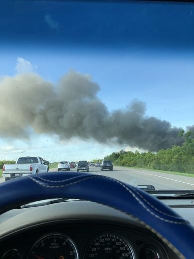 Irish bayou fire