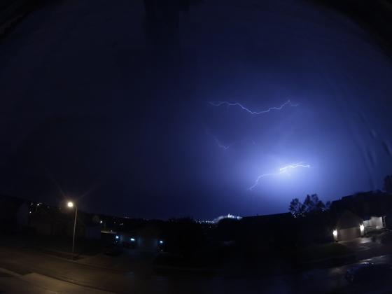 Wednesday Night Thunderstorm