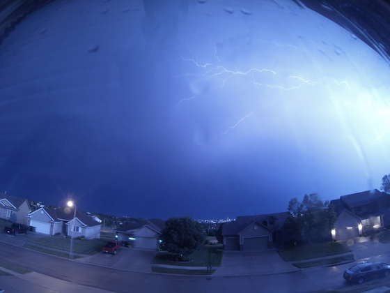 Wednesday Night Thunderstorm
