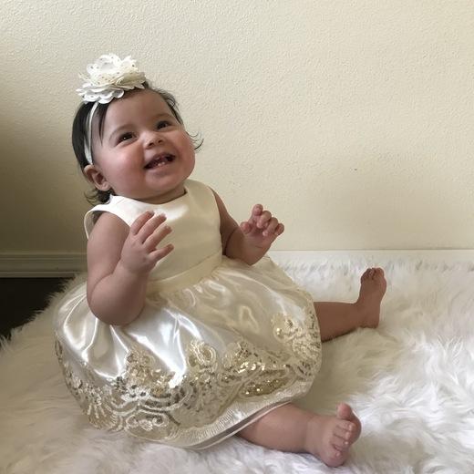 Aviana Sandoval 1st birthday