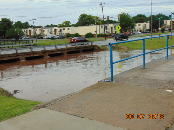 Flash flood Midwest City