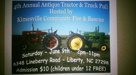 4th annual 'Tractor Pull