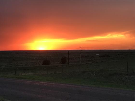 A beautiful Panhandle sunset