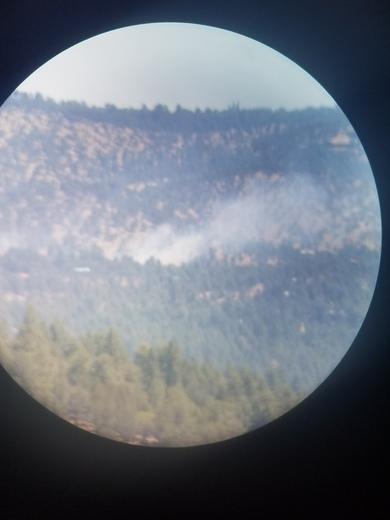 Fire was in Ruidoso