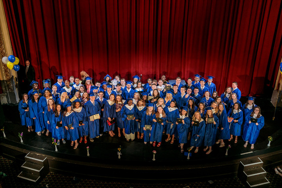 Boston Collegiate Charter School 2018 graduation