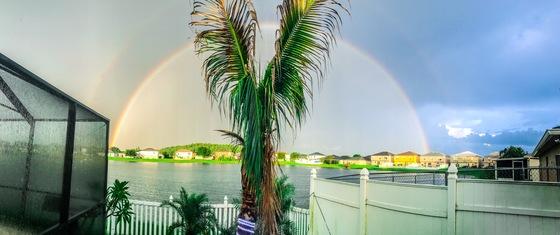 Rainbow in St Cloud fl