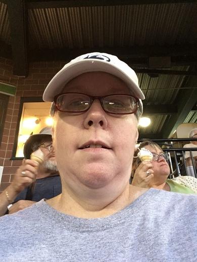 7th inning selfie.