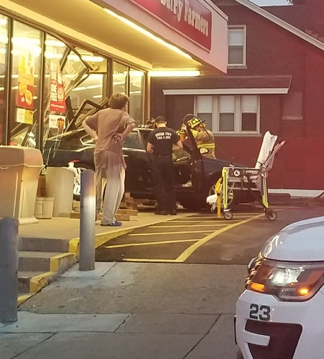 Accident into the UDF located at Bridgetown Rd and Aurora Ave in Bridgetown.