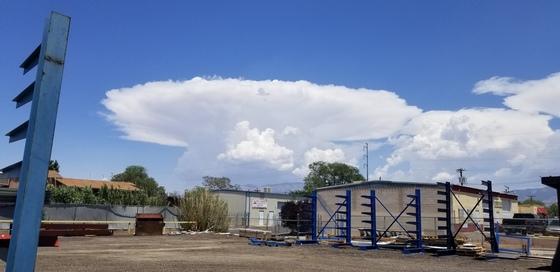 Top Hat cloud in Albuquerque