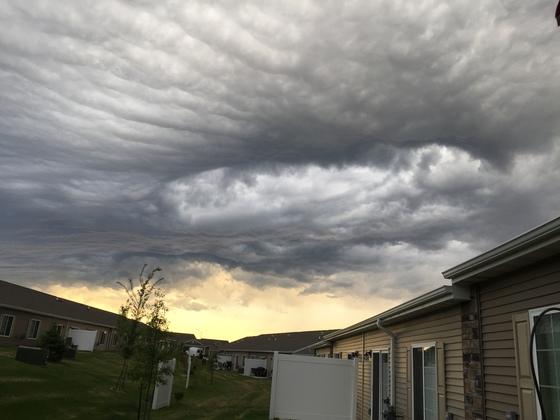 Sky in NE Waukee tonight.