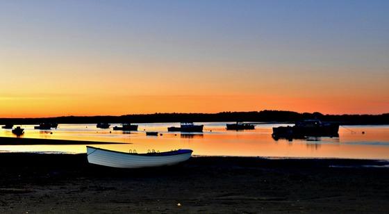 Sunset in Scarborough