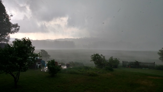 Just after 3:00 pm in Waterbury Vt.