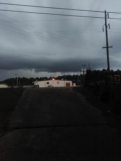 Beautiful stormy sky